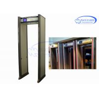 China Entertainment Places Archway Metal Detector Doors  Anti Interference Without Blind on sale