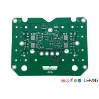 TG180 Single Sided PCB Power Supply Circuit Board With Green Solder Mask Manufactures