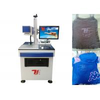 Laser Printing Machine For T-Shirt , Clothing CO2 Laser Engraving Machine Manufactures