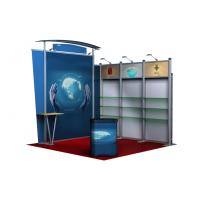 Custom Aluminum Portable Tradeshow Booths For Apparels , Textiles Manufactures