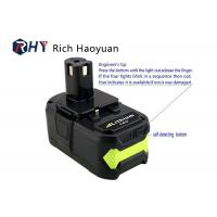 Lithium Ion Rechargeable Power Tool Batteries 18v 6.0Ah For Ryobi P104 P102 P103 P107 P108 Manufactures