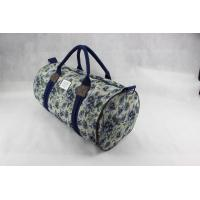 Custom Design Canvas Weekend Travel Bag , Ladies Luggage Bags For Outdoor Manufactures
