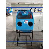 Buy cheap Manual Wet Sandblasting Cabinet Power Supply 220V / 50HZ Corrosion Resistant from wholesalers