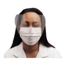 China Fluid Resistant Medical Face Mask Single Use , Surgical Mask With Face Shield on sale