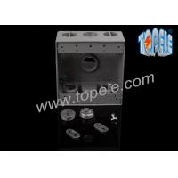 Electrical Boxes For Branch Circuit Wiring Aluminum Die Cast Weatherproof Box / Two Gang Electrical Outlet Box Manufactures