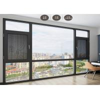 Anti Theft Double Glazed Sliding Doors Shock Resistant For Seal Balcony Manufactures