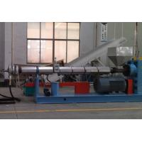 Plastic Pelletizing Equipment / PP And PE Film Granulator Machine Manufactures