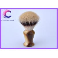 China Hand - made European synthetic hair shaving cream brush for  gift on sale