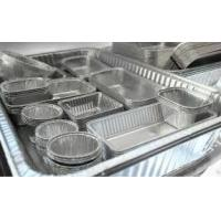 Alloy Household Disposable Thick Aluminium Foil Tray Container Food Manufactures