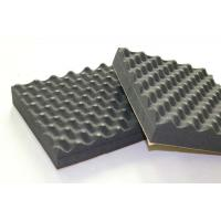 Black Recording Studio Acoustic Foam Panels Soundproof Egg Crate EPDM 30mm Manufactures