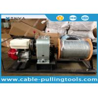 5 Ton Cable Pulling Winch Wire Rope Winch Manufactures