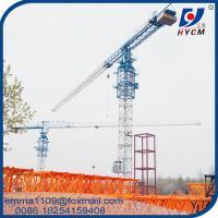 Flat Top Tower Crane QTZ63(5210) Types of Hydraulic Telescopic Climbing Manufactures