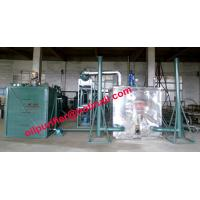ISO certified engine oil recycling machine,car motor oil  vacuum distillation system, black oil decolorization purifier Manufactures