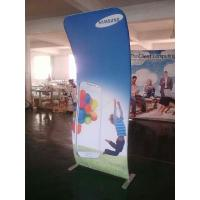 4*8FT Cobra Tension Fabric Banner Aluminum Stand + Graphic Printing Manufactures