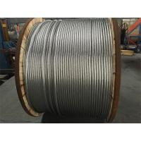 Overhead ACSR Cable With Hard Drawn Aluminium Wires And Zinc Coated Steel Wires Manufactures