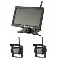 400cd/m2 Brightness Vehicle Reversing Systems 1024x600 Wireless Monitor Camera Manufactures