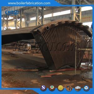 Steel Single High Efficiency Cyclone Dust Collector , Industrial Cyclone Dust Collector Manufactures