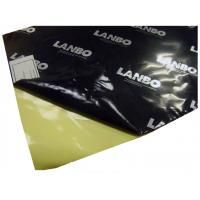 Black Foil Facing Butyl Sound Deadening Material Self Adhesive For Sound Proof Manufactures