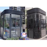 Parking Entrance Modern fire resistant security guard room Nice Manufactures