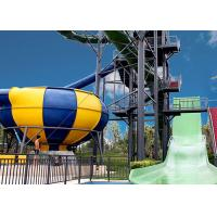 China Huge Space Bowl Water Slide Playground / Commercial Water Slide Equipment on sale