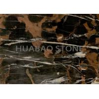 Wall Cladding  Marble Slab Tile , Natural Stone Flooring Polished Surface Manufactures