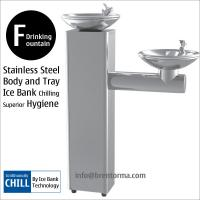 DF3BC Floor-Mounted Bi-level Stailess Steel Drinking Water Fountain Manufactures
