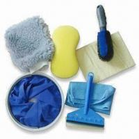Car Cleaning Tool Set, Available in Foldable Bucket Size of 25 x 27cm Manufactures