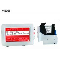 Thermal Inkjet Coding Machine For QR code, Variable Content Continuous Carton Easy Jet Printer Manufactures