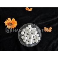 China Alumina Ceramic Grinding Balls / High Purity Aluminum Oxide White Color on sale