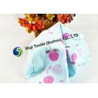 China Colorfully Printed Comfortable Microfiber Mirror Cleaning Cloth Blue Red on sale