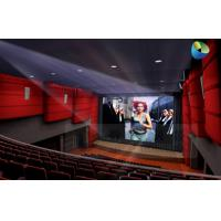 Huge Amazing 4D Movie Theater with Metal Flat Screen , Genuine Leather + Fberglass Manufactures