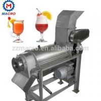 China screw press type fruit and vegetable juice machine control quality stainless steel 304 on sale