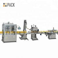 China Easy Adjustment Olive Oil Bottling Machine With Vacuum Sucking Filling Nozzles on sale