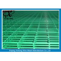 Steel Bar Welded Wire Mesh Fence Panels , Pvc Coated Wire Mesh Panels Manufactures