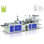 Full automatic plastic T-shirt bag, Handle bag making machine Manufactures