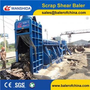 WANSHIDA Hydraulic Scrap Metal Shear Baler for Waste Car Bodies Light Scrap Metal Copper Steel Manufactures