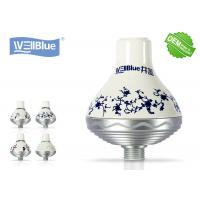 ABS Plating UV SPA Shower Water Filter Chlorine Removing With Mineral Stone Manufactures
