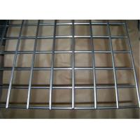Galvanized Vinyl Coated Wire Mesh Metal Mesh Panels / Welded Wire Fabric For Concrete Manufactures