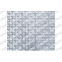 China Plastic Waterproof 3D Decorative Wall Panels For Home Decor Or Commercial on sale