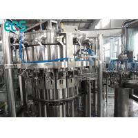 500 ML PET Bottle Carbonated Drink Filling Machine 3000 BPH Small Scale SUS304