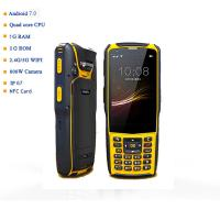 S5 Model IP67 Industrial Android 7.0 Handheld PDA Qr Code Scanner 1D 2D Barcode Reader for Logistics Warehouse Manufactures