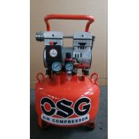 China Small 1100w Portable Silent Oil Free Air Compressor for Dental , Advertising Industry on sale