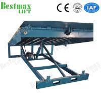 Stationary Loading Dock Ramp Forklift Dock Leveler For Loading Cargo 15 Tons for sale