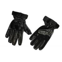 Black Full Finger Tactical Gloves,High quality leather,Size:S,M,L,XL Manufactures