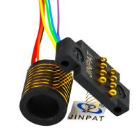 China 8 Circuits Electric Separate Slip Ring 300rpm Rotating Speed For Electrical Test Equipment on sale