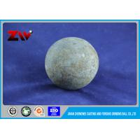Hot Rolling Ball Mill Balls , High Hardness Cast And Forged Grinding Ball Manufactures