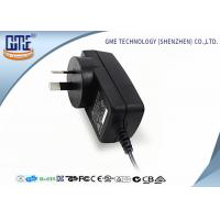Fire retardant PC 18W Wall Mount Power Adapter , AC To DC Power Adapter Manufactures