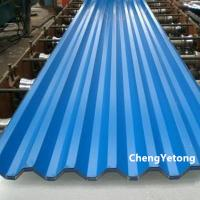 High Weatherability Color Coated Roofing Sheets Weight ≤8T With PVDF Coating Manufactures
