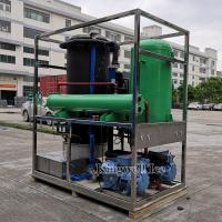 Transparent Ice Tube Making Machine Cylinder Ice Maker 10ton Per Day for sale
