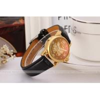 Winner Leather Strap 235mm Womens Wrist Watch With Red Dial Manufactures